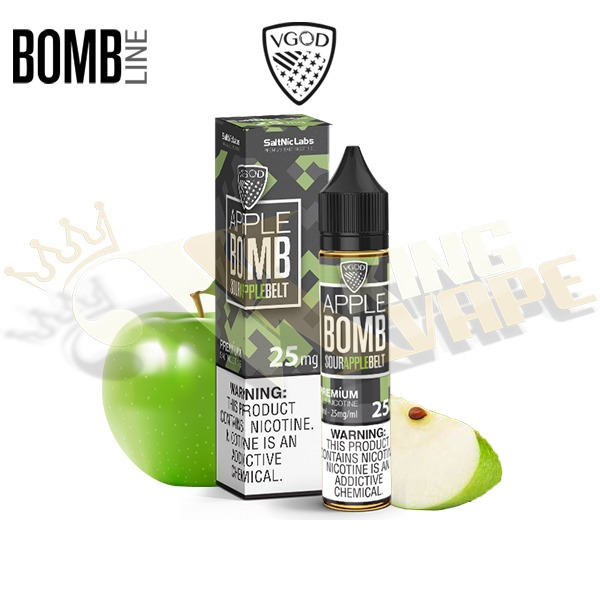 APPLE BOMB SALTNIC BY VGOD