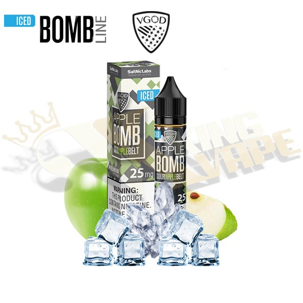 APPLE BOMB ICED SALTNIC BY VGOD