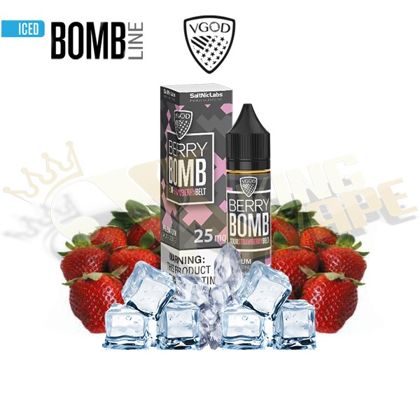 BERRY BOMB ICED SALTNIC BY VGOD