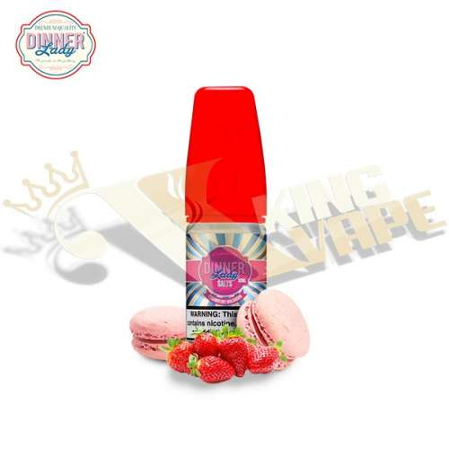 STRAWBERRY MACAROON SALT BY DINNER LADY