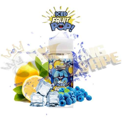 ICE BLUEBERRY LEMONADE BY POP VAPORS