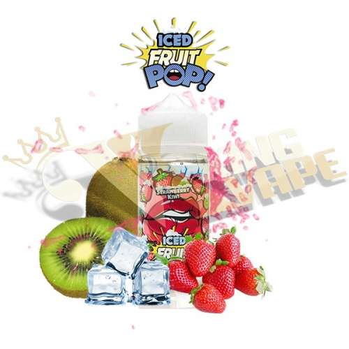 ICE STRAWBERRY KIWI BY POP VAPORS