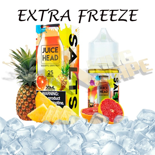 PINEAPPLE GRAPEFRUIT SALT BY JUICE HEAD EXTRA FREEZE