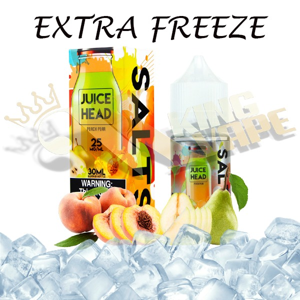 JUICE HEAD SALTS PEACH PEAR