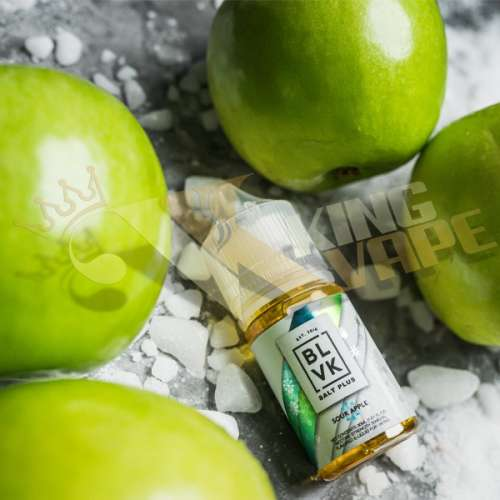 SOUR APPLE ICE SALT PLUS BY BLVK